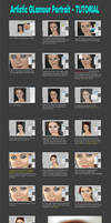 Glamour Portrait  TUTORIAL