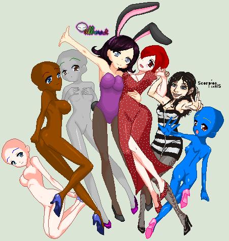 Showgirls by ScorpionPixels