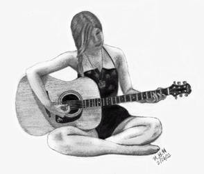 Me and a Guitar by ColorsOfTheWind28