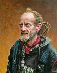 Portrait of Finnie by NewAgeTraveller