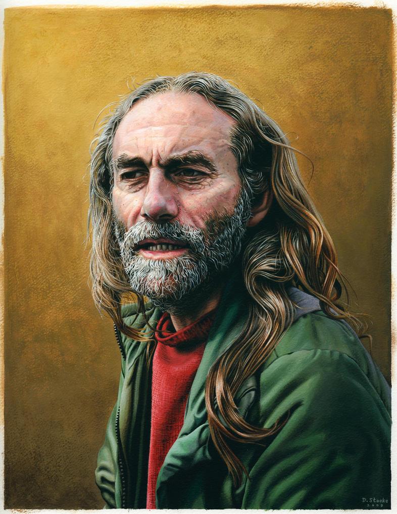 Portrait of Reg by NewAgeTraveller