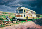 Rod's Bus at Thruxton by NewAgeTraveller