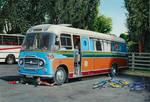 Richie Bond's Bus at the Cattle Market, Salisbury