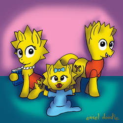 Simpson Ponies