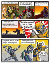 Which Mando by ScoutDoodles