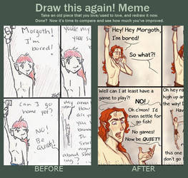 Draw This Again meme by ScoutDoodles
