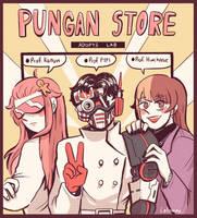The 3 members  by PunganStore