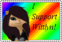 I Support Wittlyn! (angelsnow73) by angelsnow73