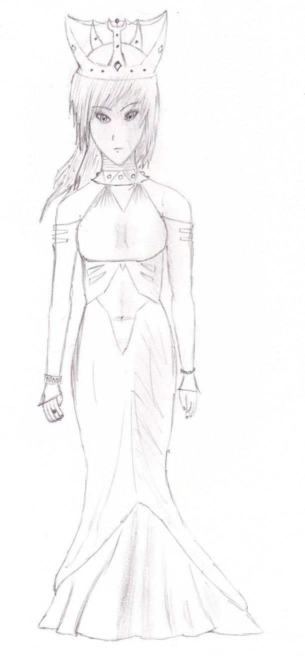 The Queen by Shelbasaurrawr