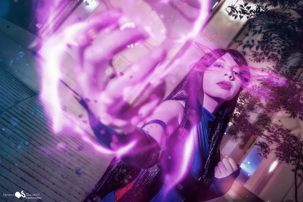 Psylocke by ARTEMICTLAN