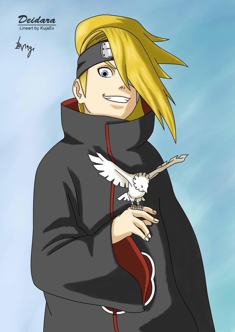 naruto deidara by izanagichan on deviantart
