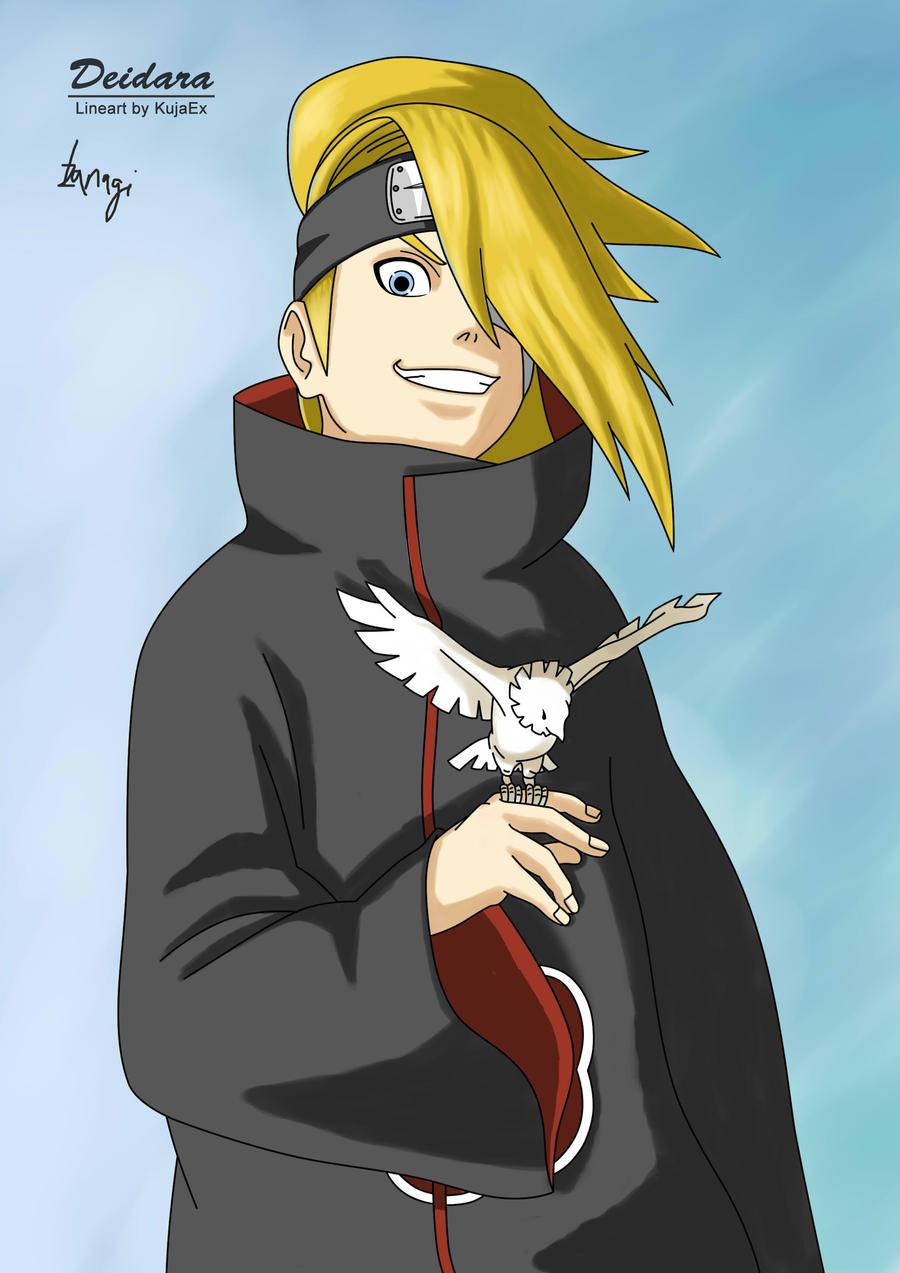 Naruto - Deidara by Izanagi-chan on DeviantArt