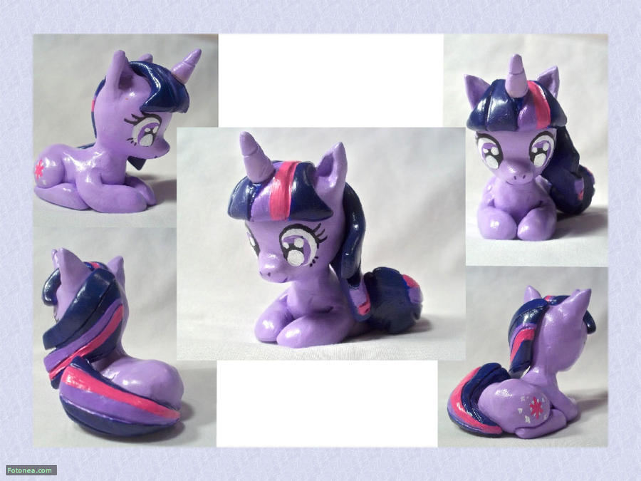 Twilight Sparkle Sculpture by CadmiumCrab