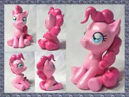 Pinkie Pie Sculpture by CadmiumCrab