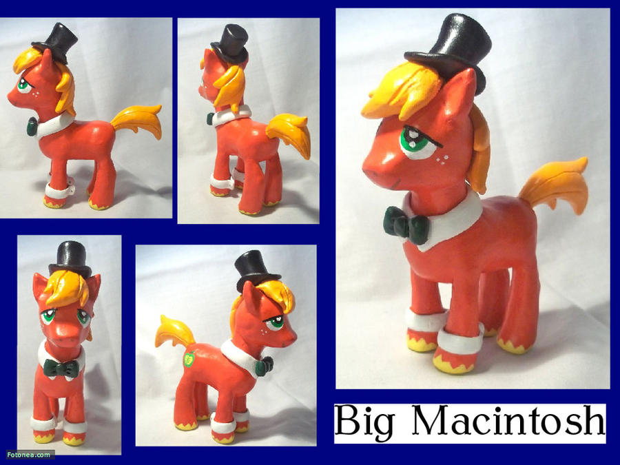 Fancy Big Macintosh Sculpture by CadmiumCrab