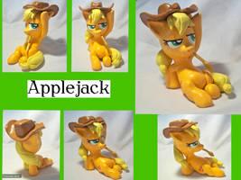 Applejack Sculpture by CadmiumCrab