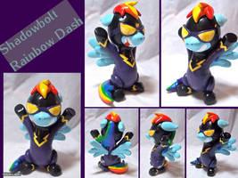 Shadowbolt Dash Sculpture by CadmiumCrab