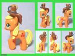 Applejack Custom Toy with Cider