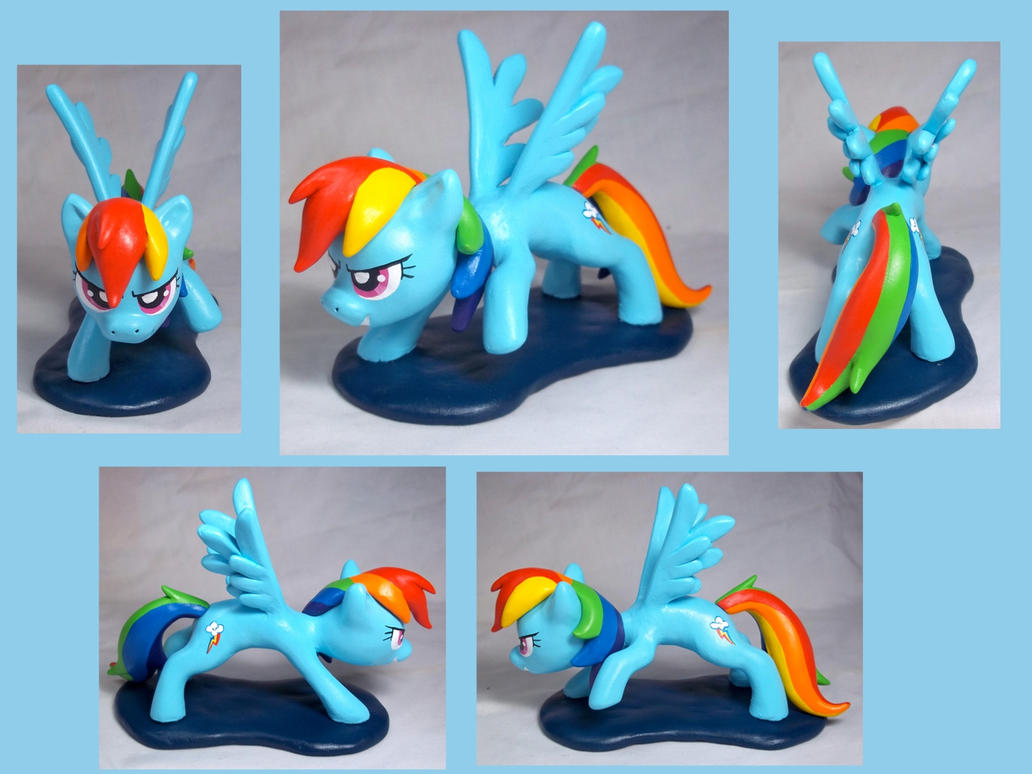 Rainbow Dash Sculpt by CadmiumCrab