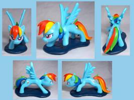 Rainbow Dash Sculpt by CadmiumCrab