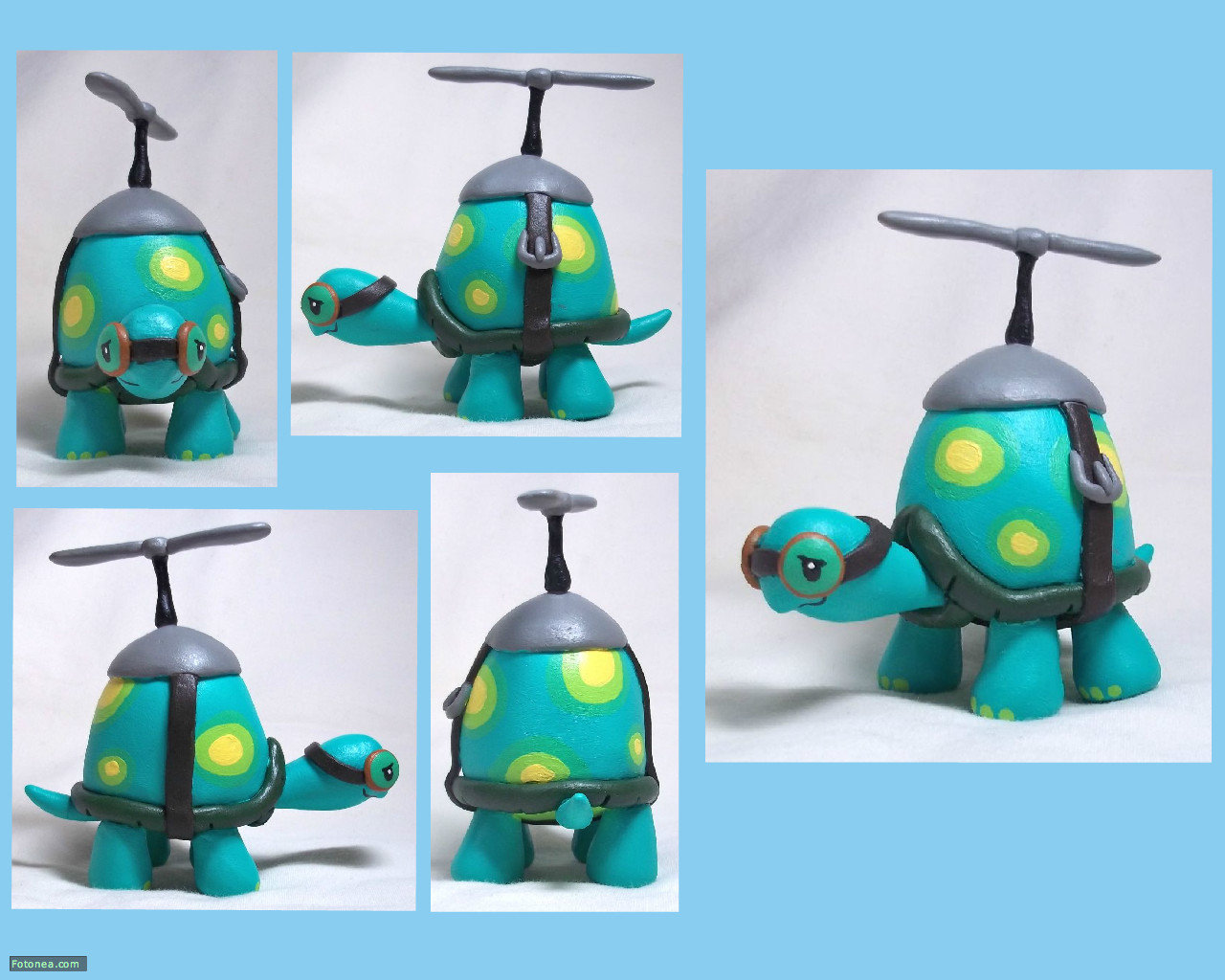Tank the Tortoise Sculpt by CadmiumCrab