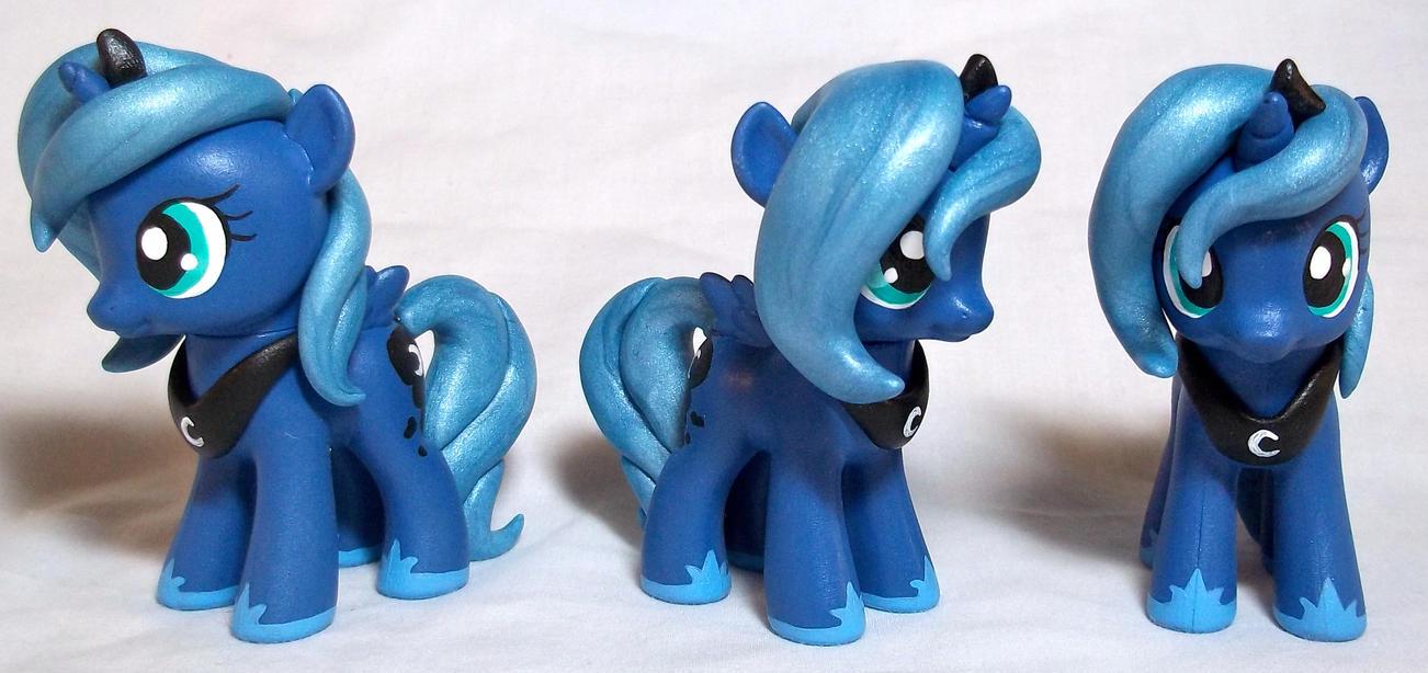 Filly Luna Customs by CadmiumCrab