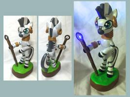 Light-Up Zecora Sculpt by CadmiumCrab