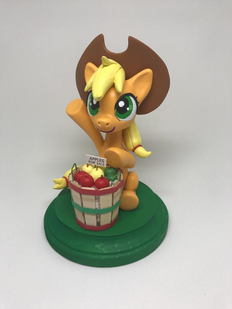 Applejack: Apples for Sale! by CadmiumCrab
