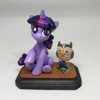 Twilight and Owlowiscious by CadmiumCrab