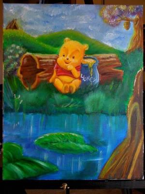 Winnie The Pooh by annorekto