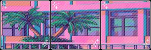Divider 003 | Vaporwave by okaynine