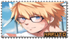 Kawaii NaruSasu Stamp v2 ~ Naruto by zinLee