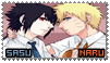 SasuNaru Stamp 01 v2 by zinLee