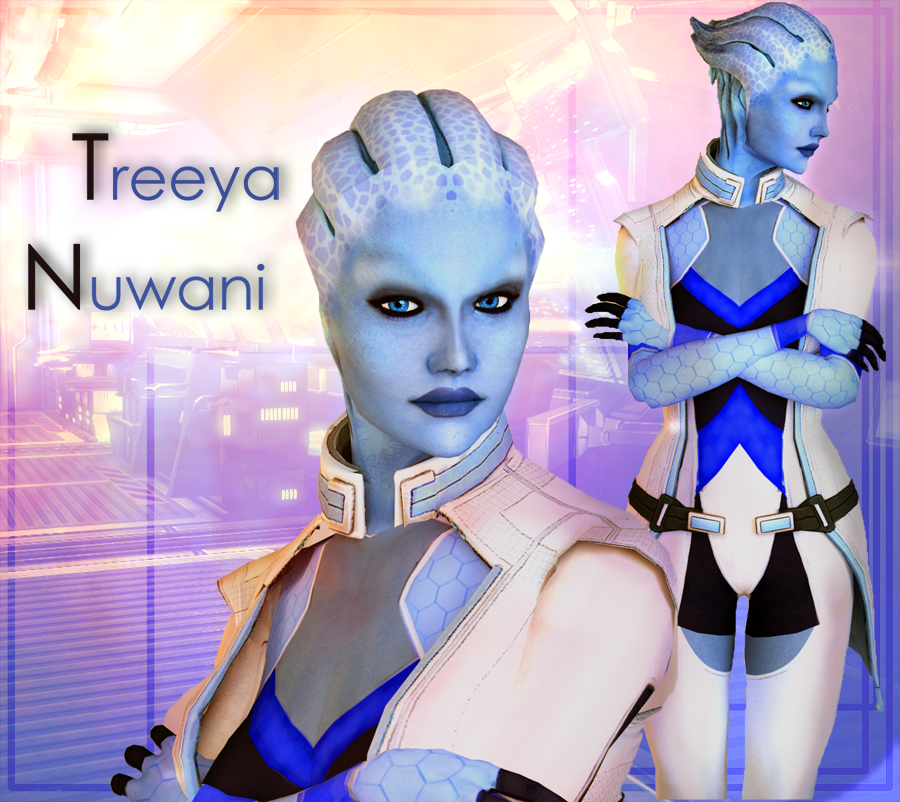 Mass Effect Treeya Nuwani Model For Xnalara By Sia G On Deviantart
