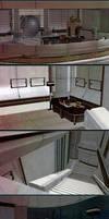 Mass Effect: Liara's office(Scene for XnaLara)