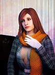 RE: Claire Redfield - Portrait of the lady