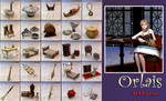 DAI:Orlais props (XNALara)UPDATE
