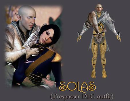 Solas (Trespasser DLC outfit) Model for XnaLara