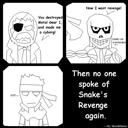 Snake's Revenge by MoonlitFlames