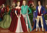 Charles watching Cinderella and the duke of B by Cindmonogatari