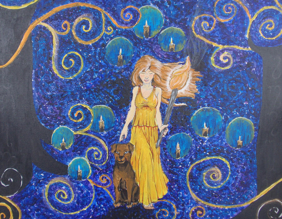 A Thousand Lights for Hekate by Neheti