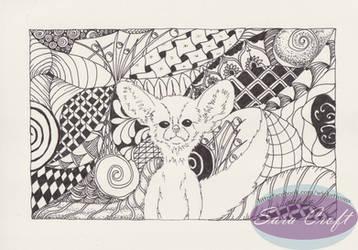 Vulpes zerda in zen by Neheti