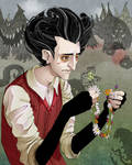 Don't Starve_Wilson and Flowers_Color