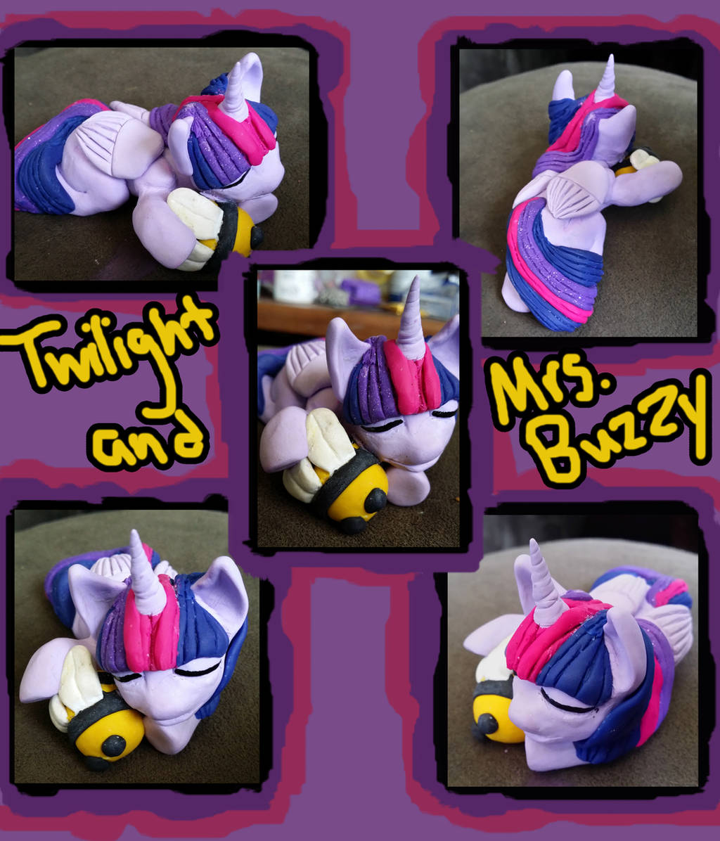 Sculpting: Twi and Mrs. Buzzy by Crystal-Leviathan