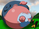 Big Bad Wolf Puff Kissing Maxi [Doodledan86]