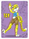 Tay the Cheetah [GreyOfPTA]