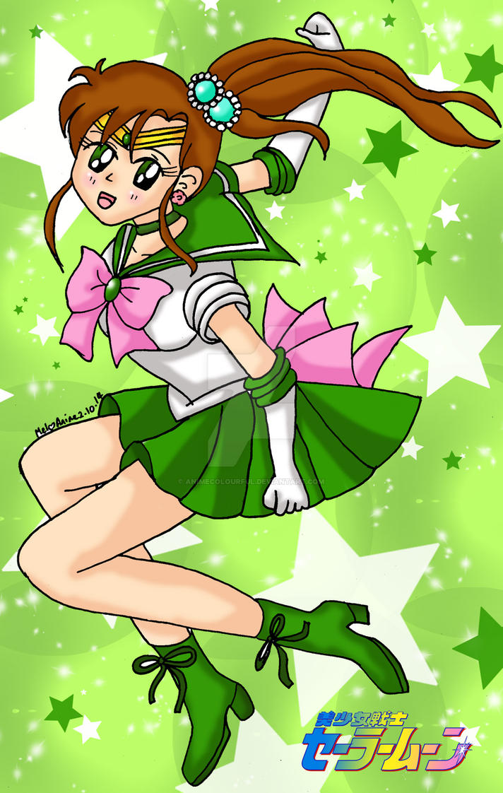 Sailor Jupiter by Animecolourful