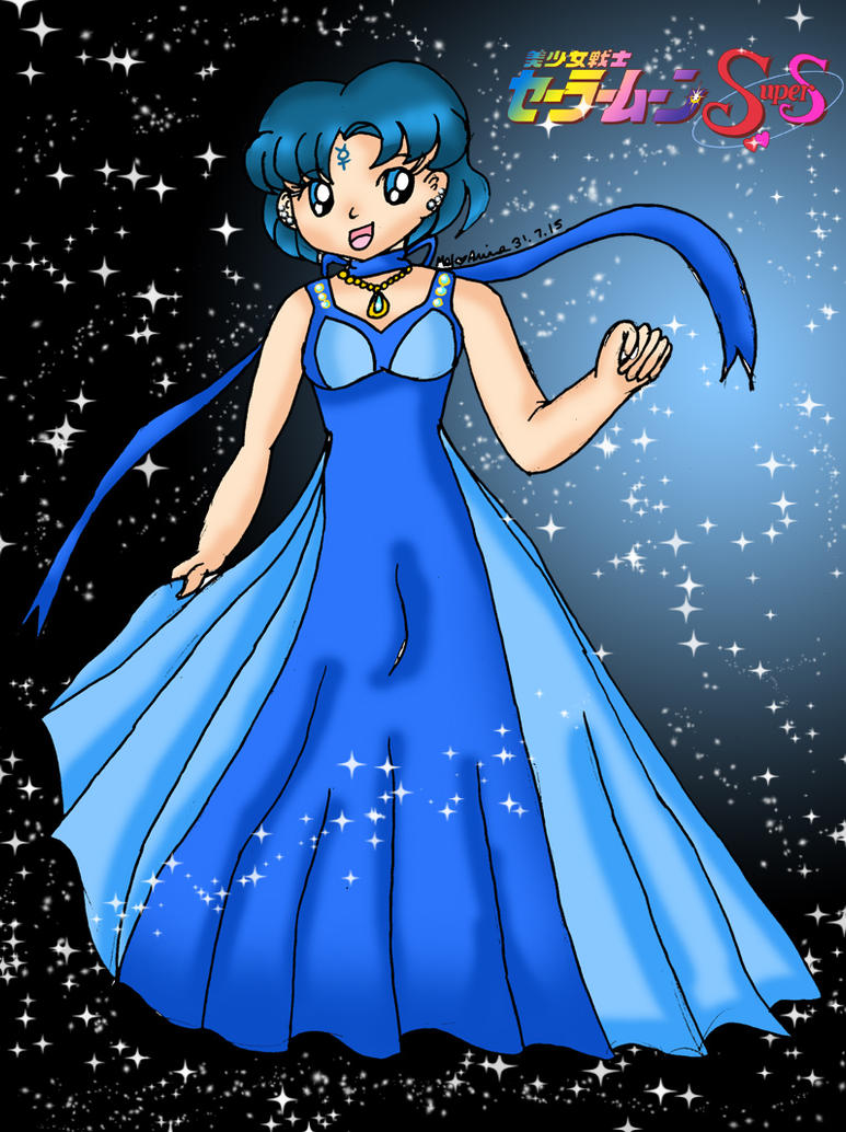 86. Princess Mercury by Animecolourful