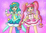 Cure Star and Milky