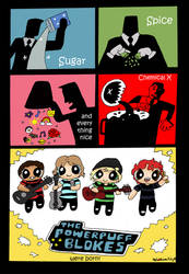 5sos-Powerpuff Comic